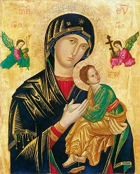 Novena to our lady of perpetual help icon